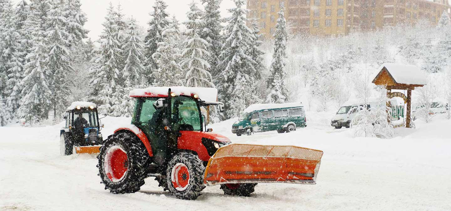 Large Equipment Snow Removal